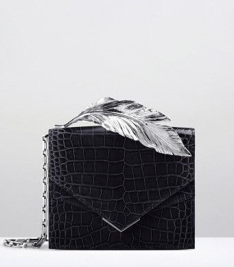 ralph-and-russo-feather-clutch-nightfall-alligator-silver-feathera